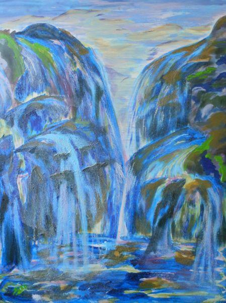 Les chutes de Langevin, La Réunion, 2011-12